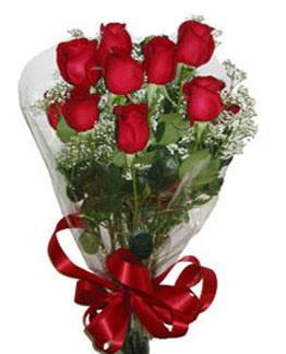 Çiçek sade gül buketi 7 güllü buket  Van online çiçek gönderme sipariş