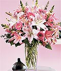 Van çiçek yolla , çiçek gönder , çiçekçi   Kazablanka biçme vazoda