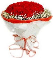 Van çiçekçiler  41 adet kirmizi gül buketi