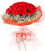 Van hediye sevgilime hediye çiçek  21 adet askin kirmizi gül buketi