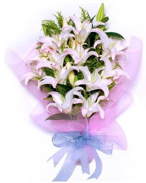 5 dal kazablankadan muhteşem buket  Van hediye çiçek yolla