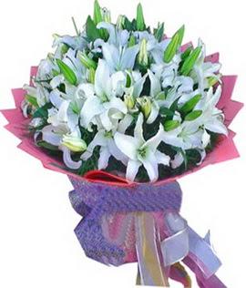 7 dal cazablanca görsel buketi  Van çiçekçi mağazası