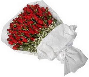 Van İnternetten çiçek siparişi  51 adet kırmızı gül buket çiçeği