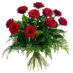 Van çiçek gönderme  10 adet kırmızı gülden buket