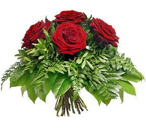 Van çiçek mağazası , çiçekçi adresleri  5 adet kırmızı gülden buket