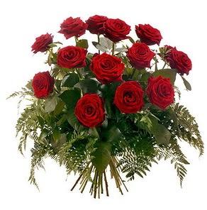 Van internetten çiçek satışı  15 adet kırmızı gülden buket
