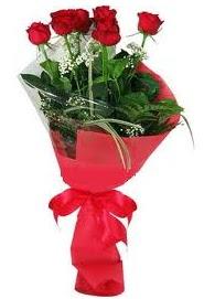 Çiçek yolla sitesinden 7 adet kırmızı gül  Van internetten çiçek satışı