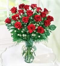 Van internetten çiçek satışı  9 adet mika yada vazoda kirmizi güller