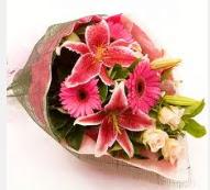 1 dal kazablanka ve mevsim çiçekleri  Van internetten çiçek siparişi