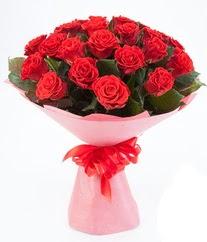 15 adet kırmızı gülden buket tanzimi  Van çiçek siparişi sitesi
