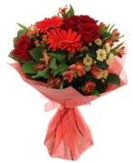 karışık mevsim buketi  Van internetten çiçek siparişi
