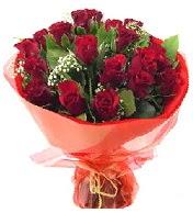 12 adet görsel bir buket tanzimi  Van çiçek siparişi vermek