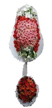 çift katlı düğün açılış sepeti  Van internetten çiçek satışı