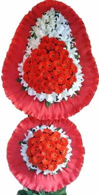 Van online çiçek gönderme sipariş  Çift katlı kaliteli düğün açılış sepeti