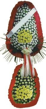 Çift katlı düğün açılış çiçeği  Van çiçek servisi , çiçekçi adresleri