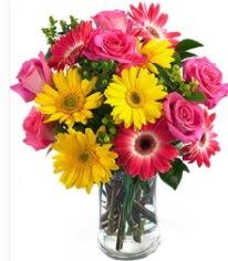 Vazoda Karışık mevsim çiçeği  Van çiçekçi mağazası