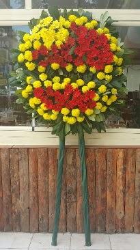 Cenaze çelengi çiçek modeli  Van çiçek mağazası , çiçekçi adresleri