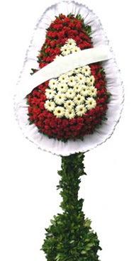 Çift katlı düğün nikah açılış çiçek modeli  Van İnternetten çiçek siparişi