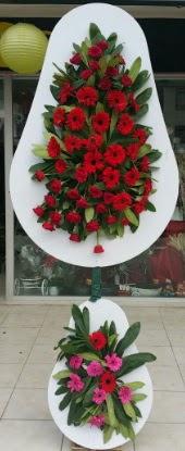 Çift katlı düğün nikah açılış çiçek modeli  Van internetten çiçek siparişi