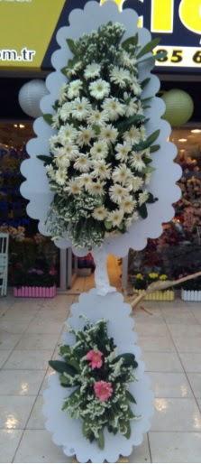Çift katlı düğün nikah açılış çiçeği  Van çiçekçi telefonları