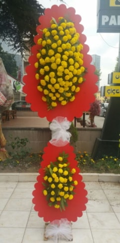 Düğün nikah açılış çiçek modeli  Van çiçek siparişi sitesi