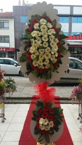 Çift katlı düğün açılış çiçeği  Van çiçek satışı