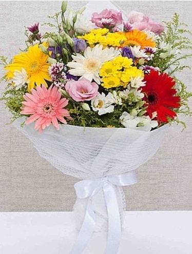 Karışık Mevsim Buketleri  Van ucuz çiçek gönder