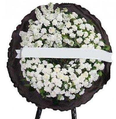 Cenaze çelengi çiçeği modelleri  Van internetten çiçek satışı