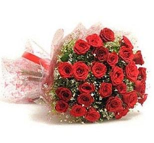 27 Adet kırmızı gül buketi  Van ucuz çiçek gönder