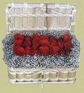 Van cicekciler , cicek siparisi  Sandikta 11 adet güller - sevdiklerinize en ideal seçim